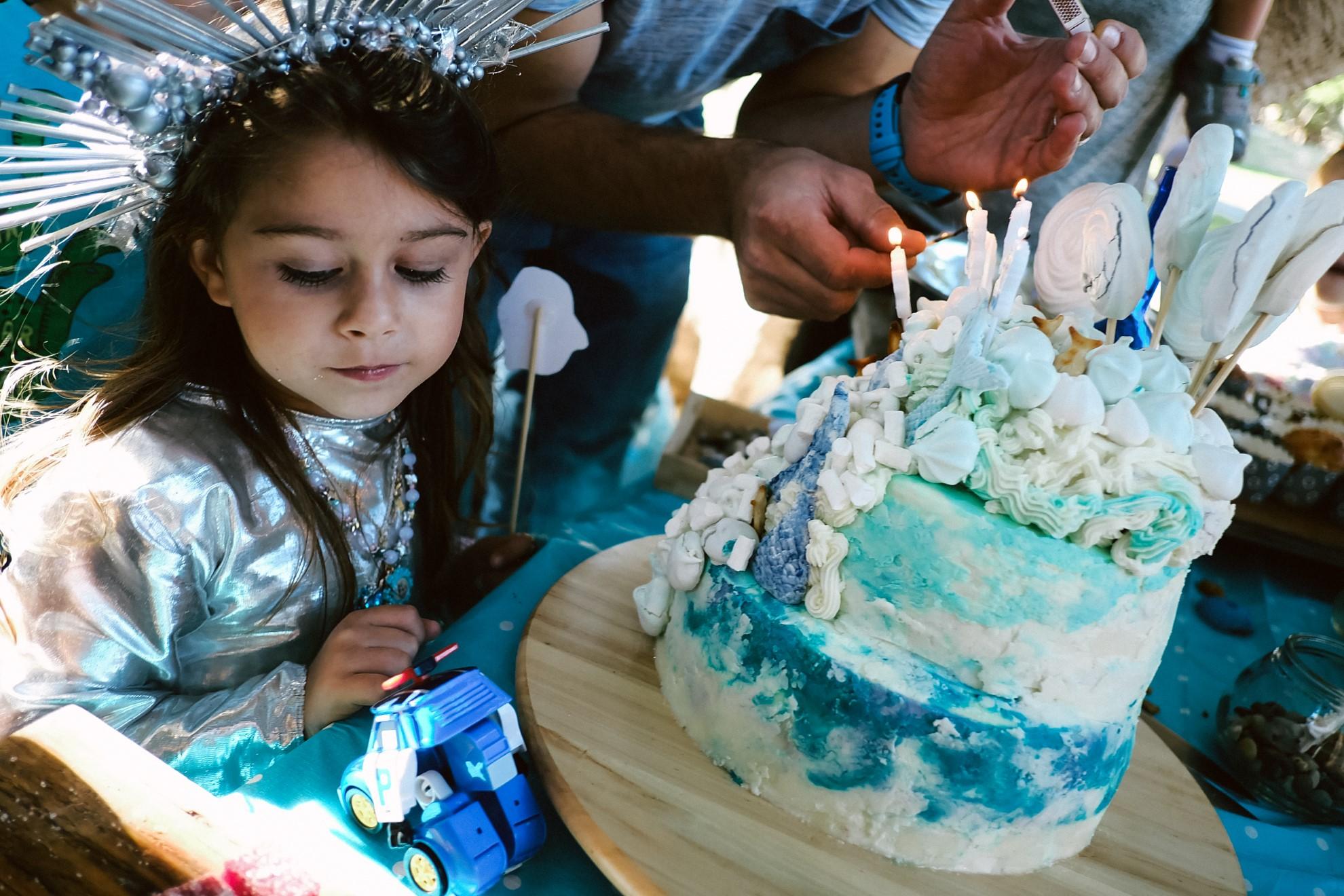 יום הולדת בת הים הקטנה