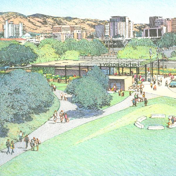 Guadalupe Park Visitors Center  San Jose, CA