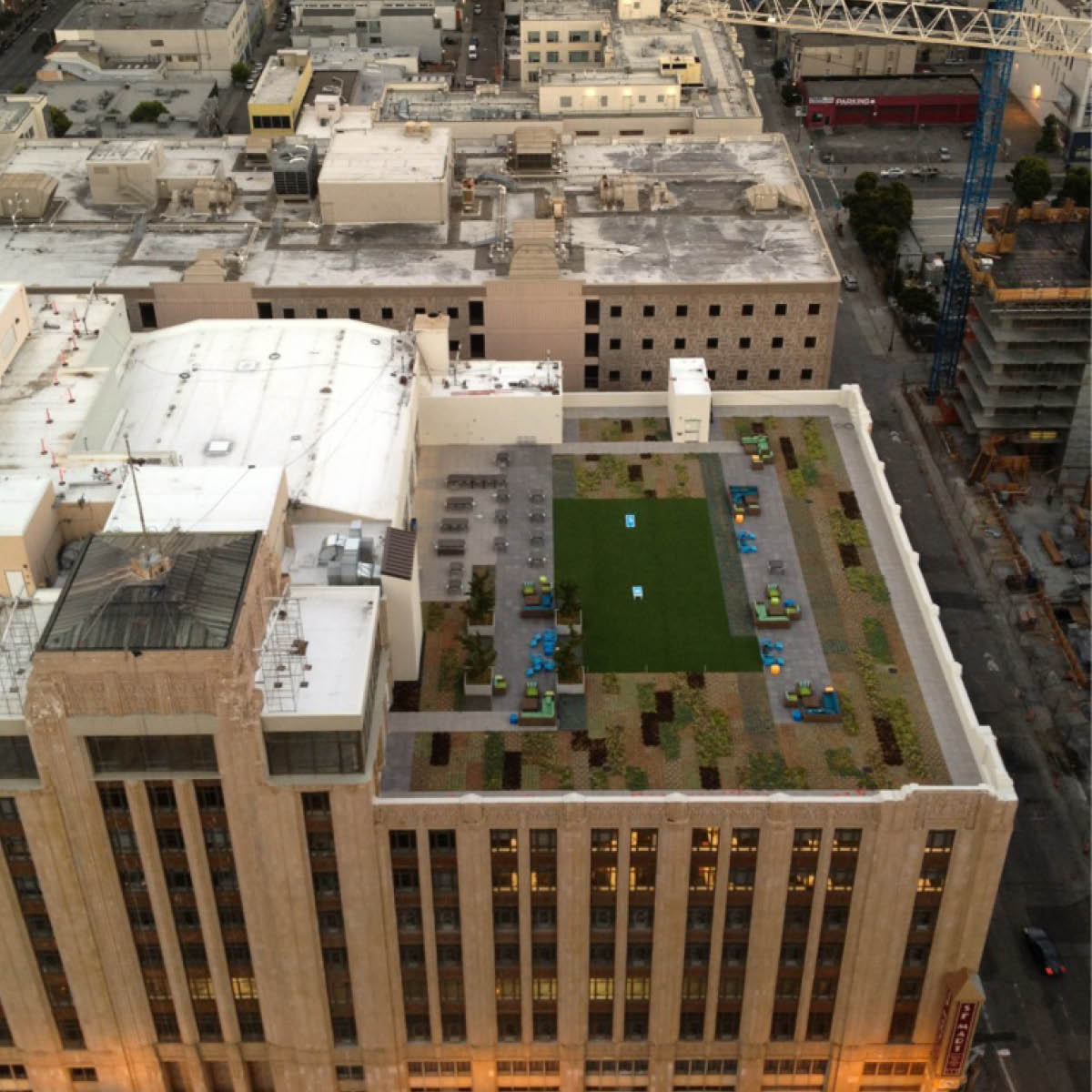 Twitter Headquarters Roof Garden