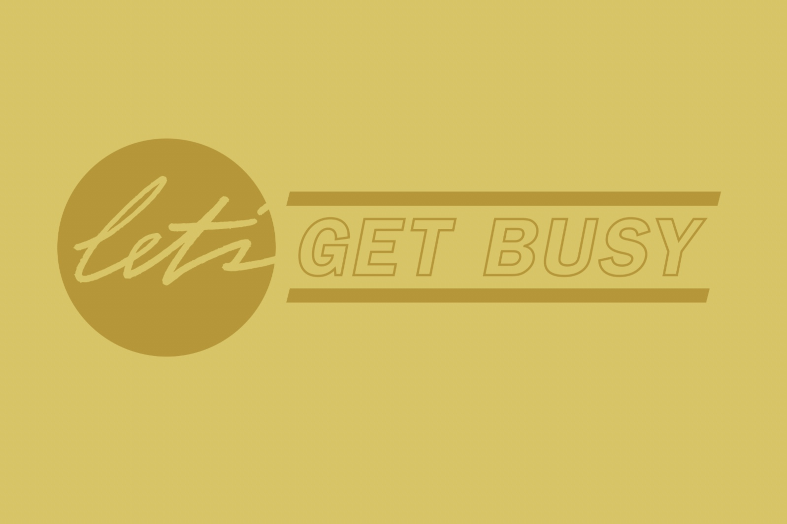 LET'S GET BUSY    Let's Get Busy  is a speed date style event, connecting nonprofits to consultants in branding, graphic design, web design, social and strategy during Design Week Portland. This year's event happens April 8th, 2019.