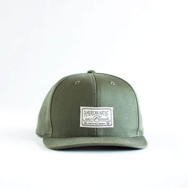 6 Panel Label Cap - $34.00
