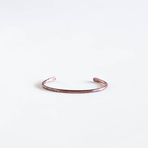 Copper Hammered Cuff - $30.00