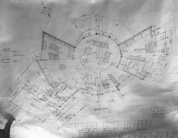Stuermer house plan, circa 1964.