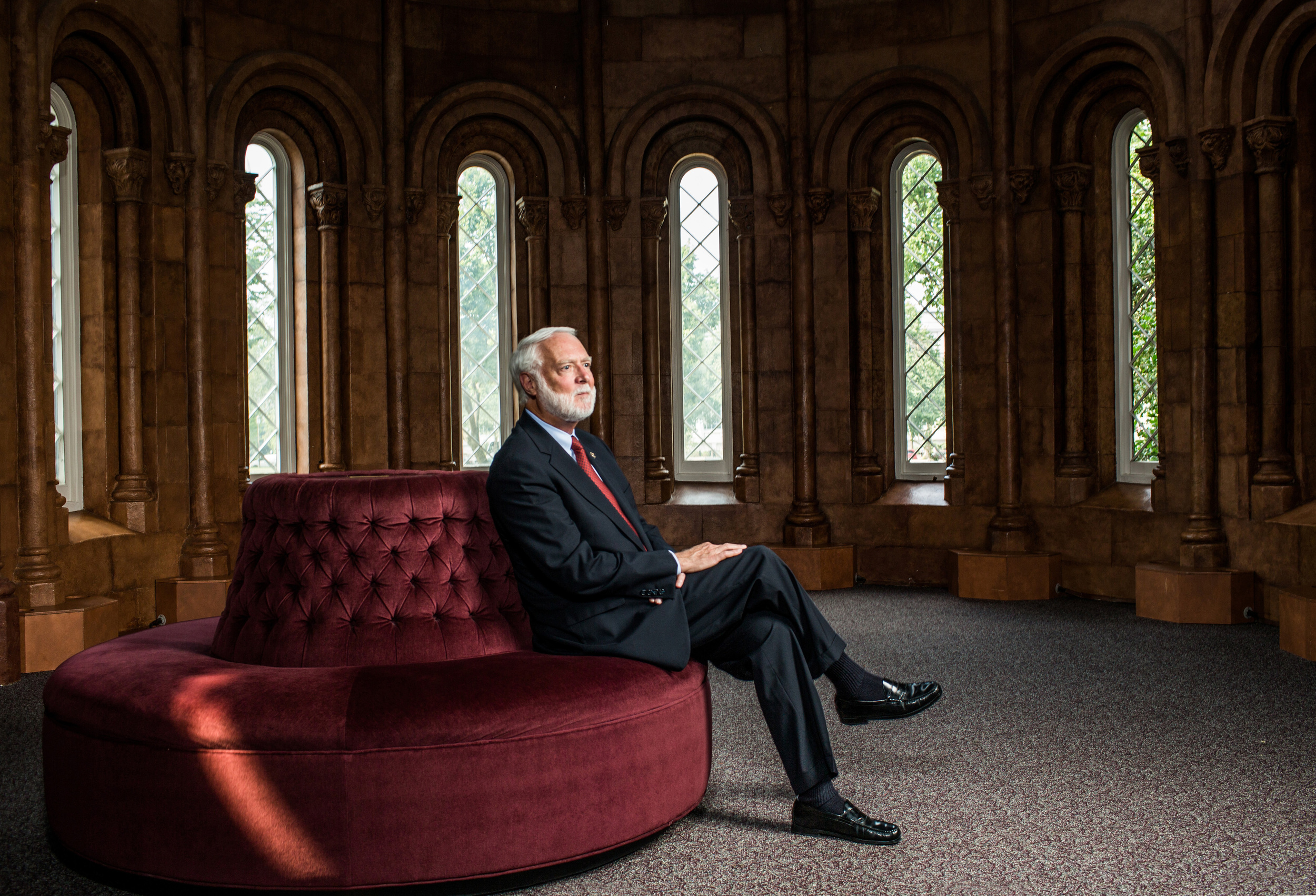 Secretary of the Smithsonian Institution Wayne Clough