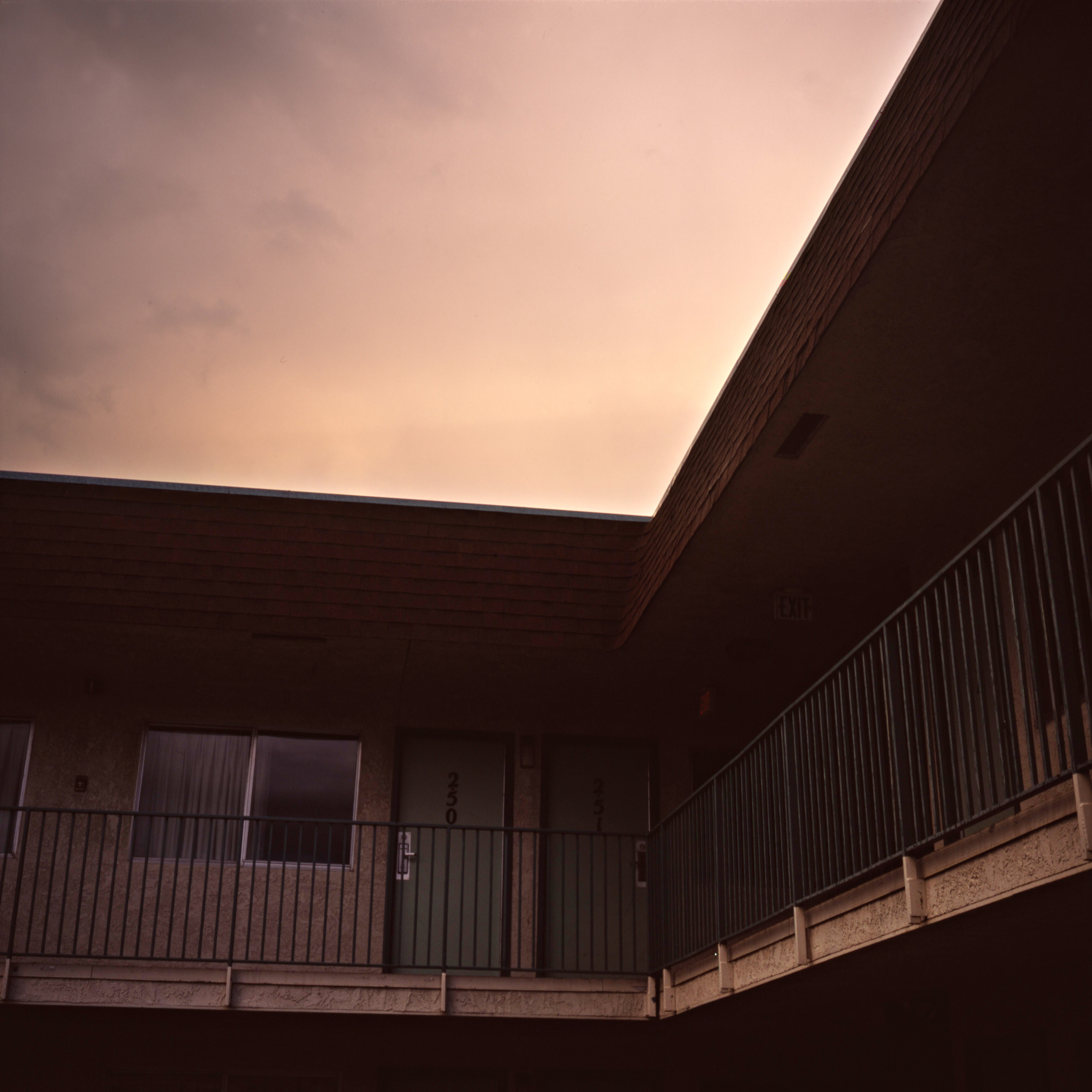 Motel at Sunset