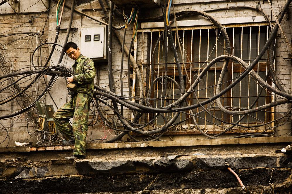 Beijing China Laborer