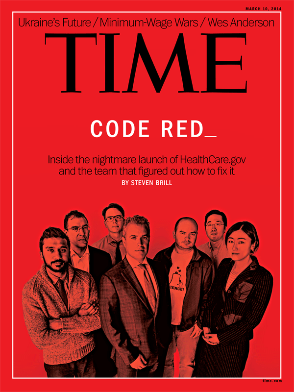 Healthcare.gov Tech Team for Time