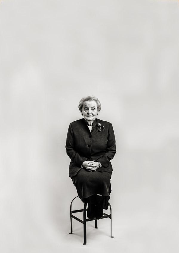 Madeline Albright for The Atlantic