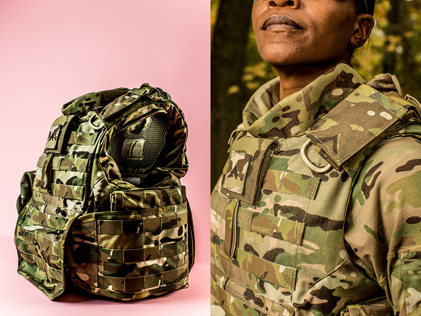 Female body armor, for Time