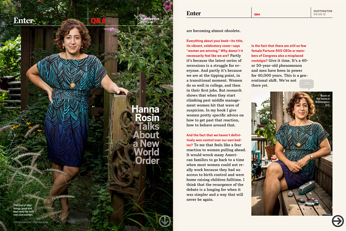 Hanna Rosin for Huffington