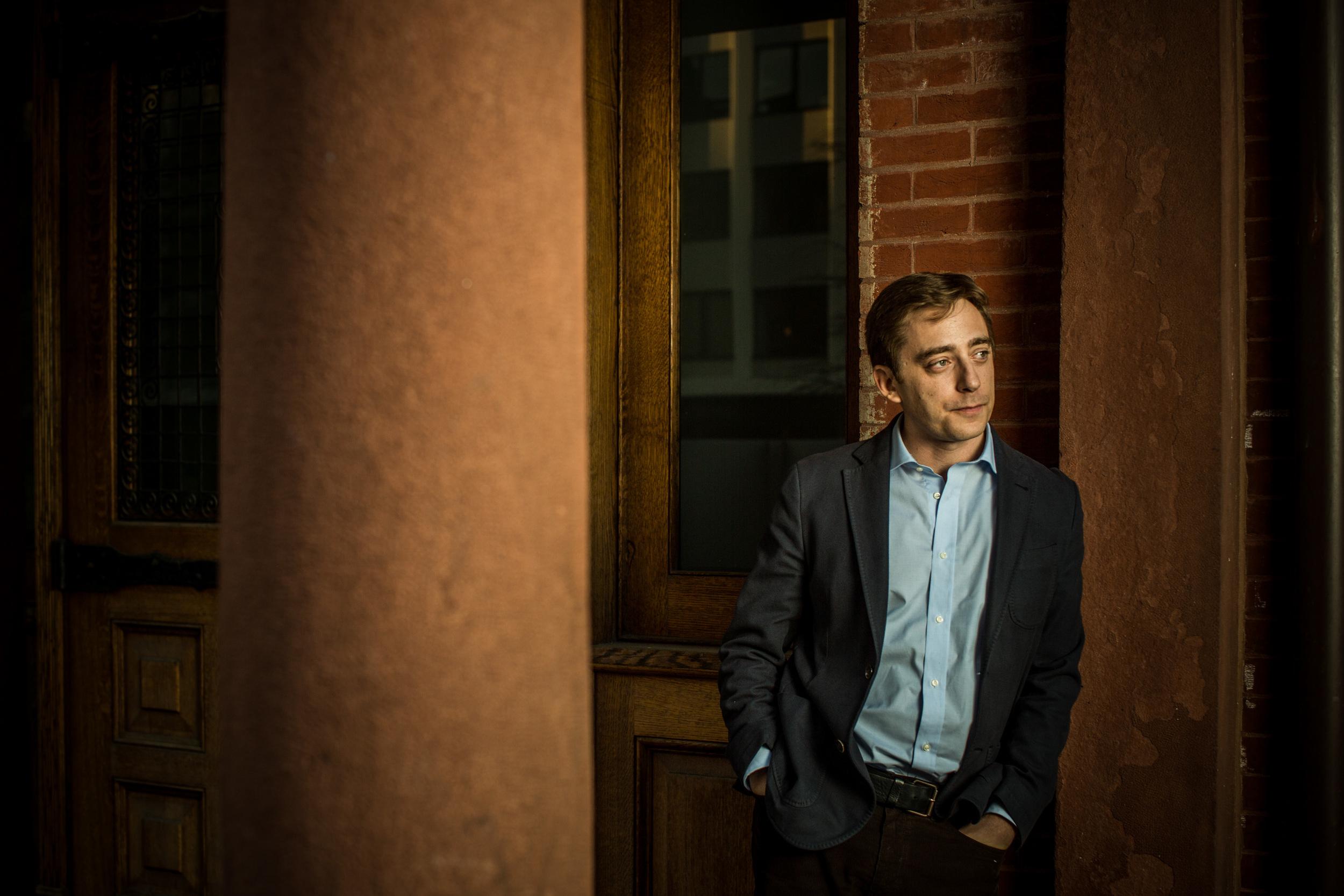 New Yorker staff writer Evan Osnos