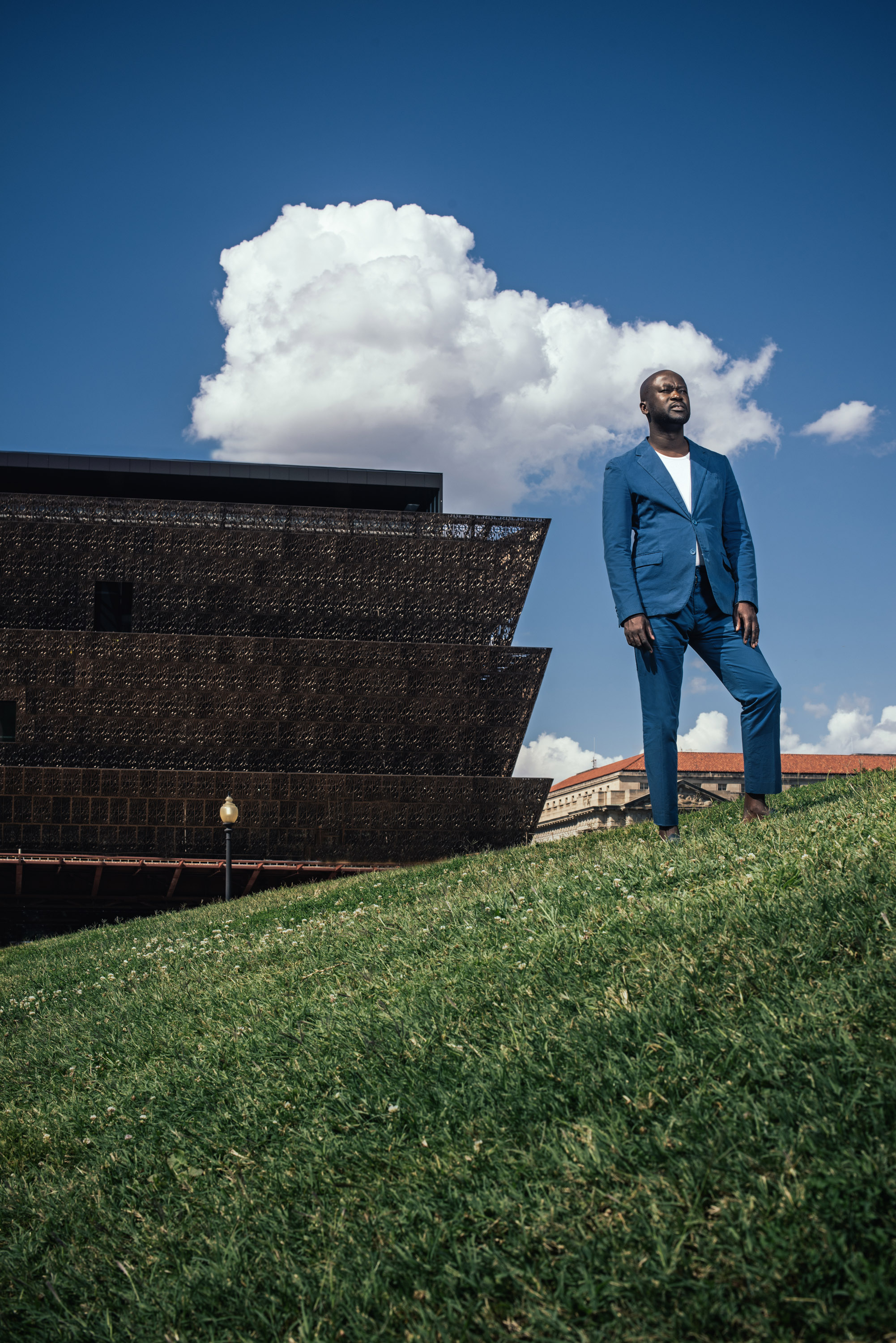 Architect David Adjaye for Vanity Fair