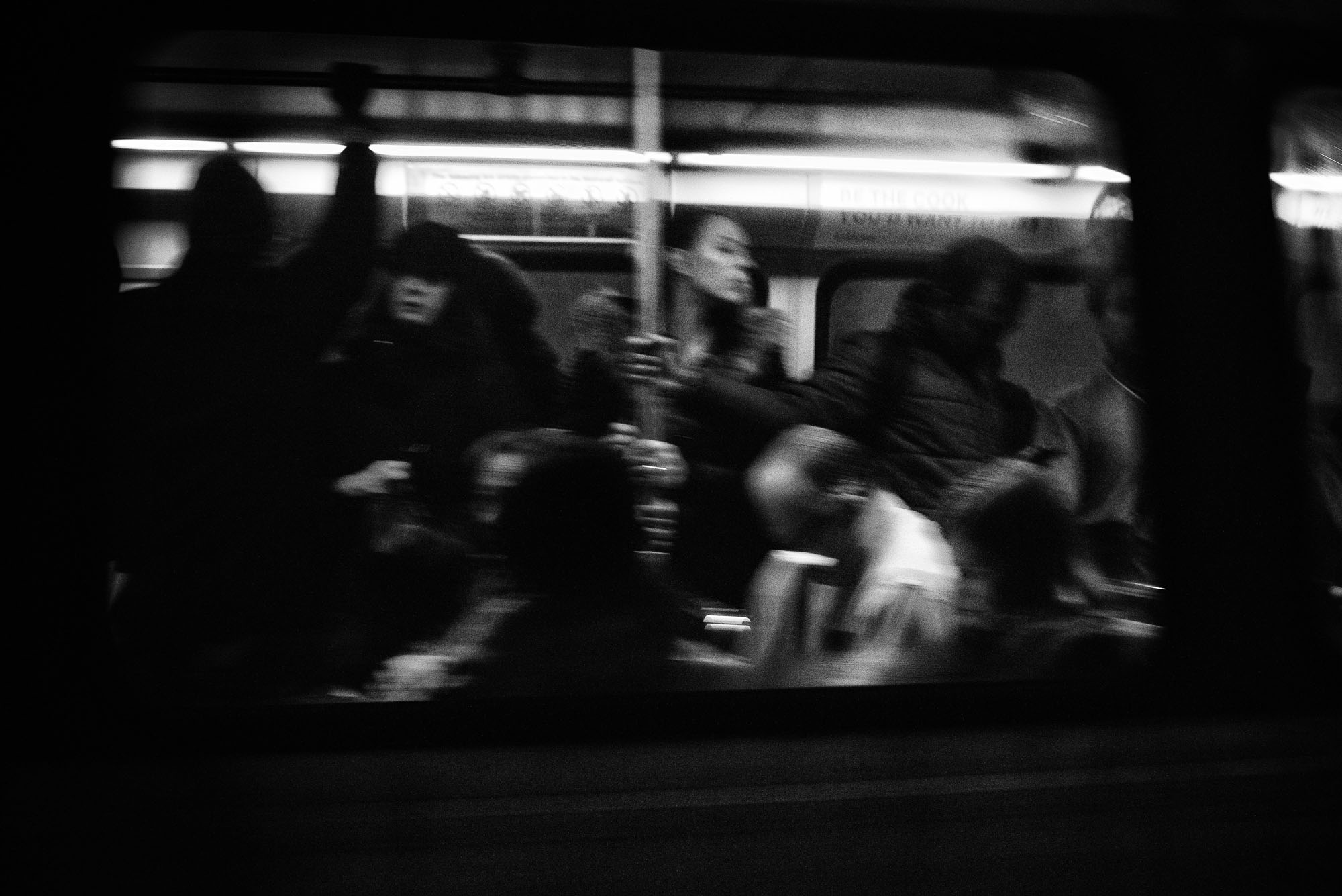 DC Metro riders on February 6, 2017.
