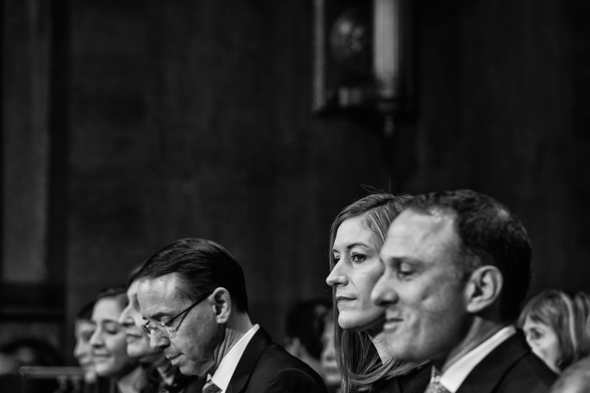 Rachel Brand testifies before the U.S. Senate Judiciary Committee on a hearing considering her to be Associate Attorney General, on March 7, 2017.