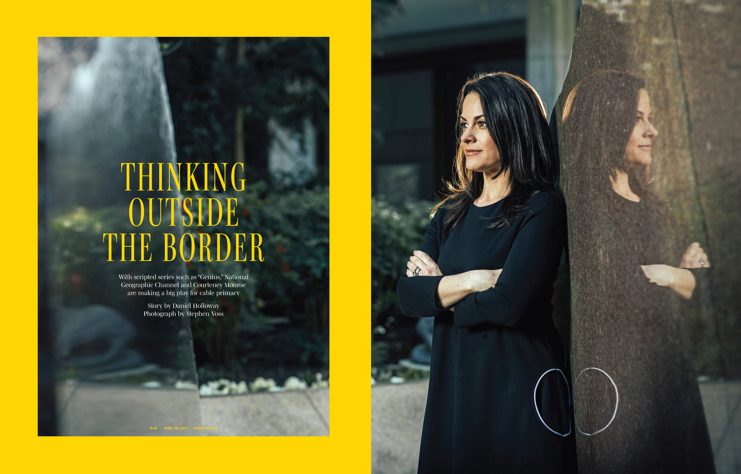 National Geographic Channel CEO Courteney Monroe