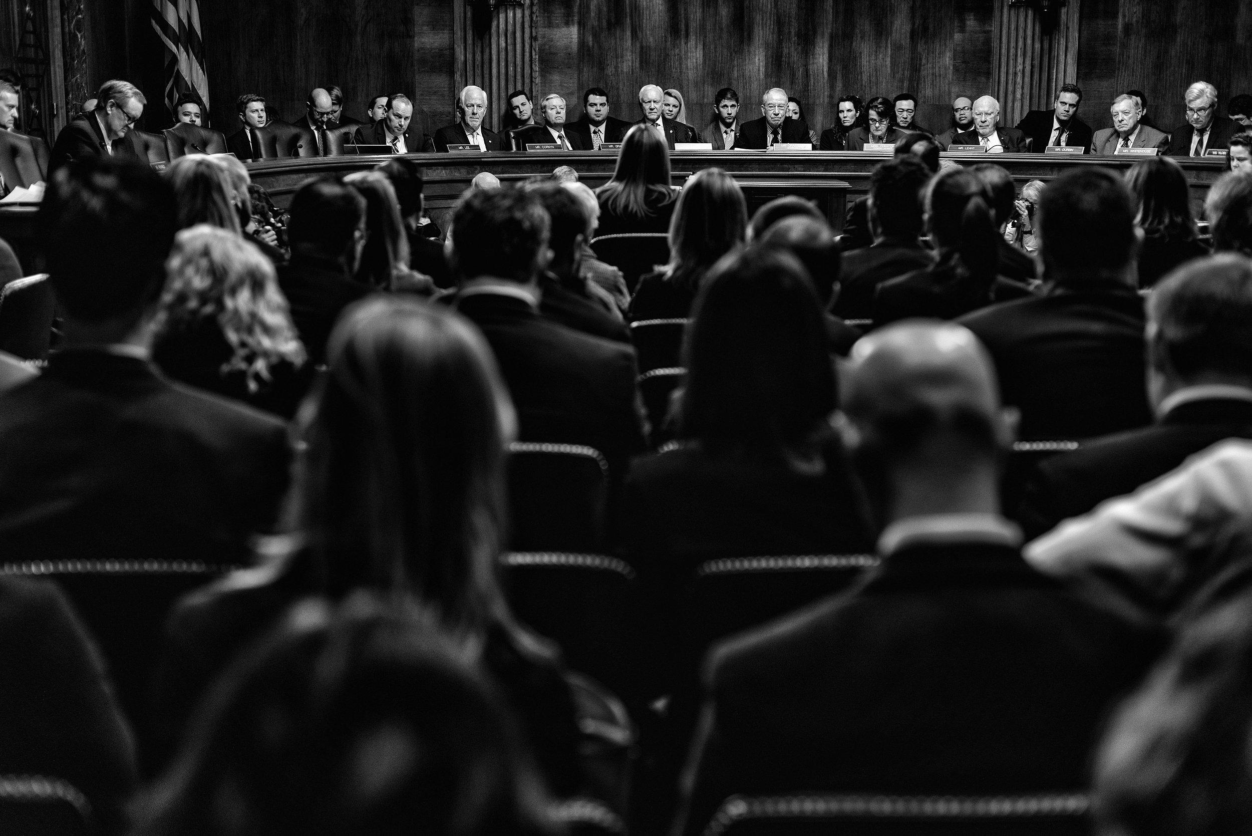 Day 47 : Rachel Brand testifies before the U.S. Senate Judiciary Committee on a hearing considering her to be Associate Attorney General, on March 7, 2017.