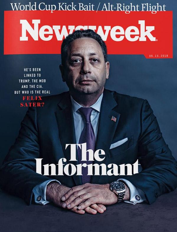 Trump associate Felix Sater for Newsweek