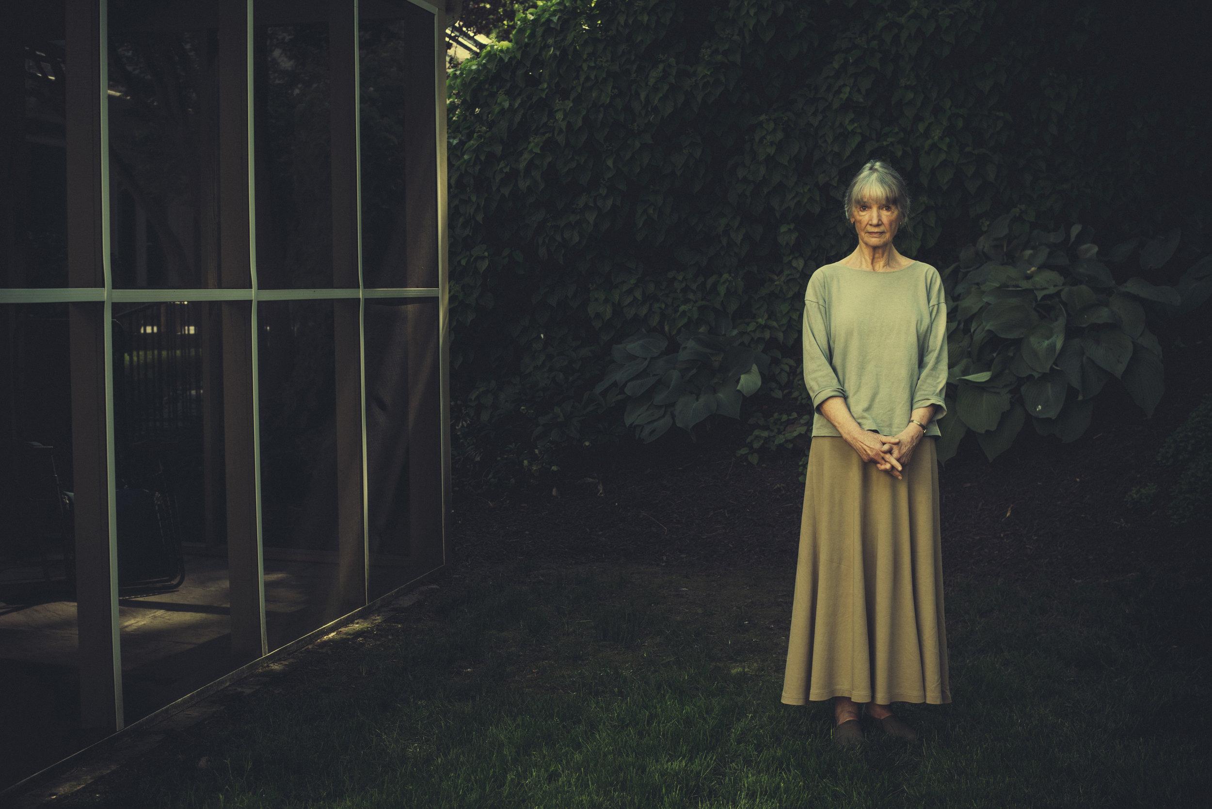 Writer Anne Tyler