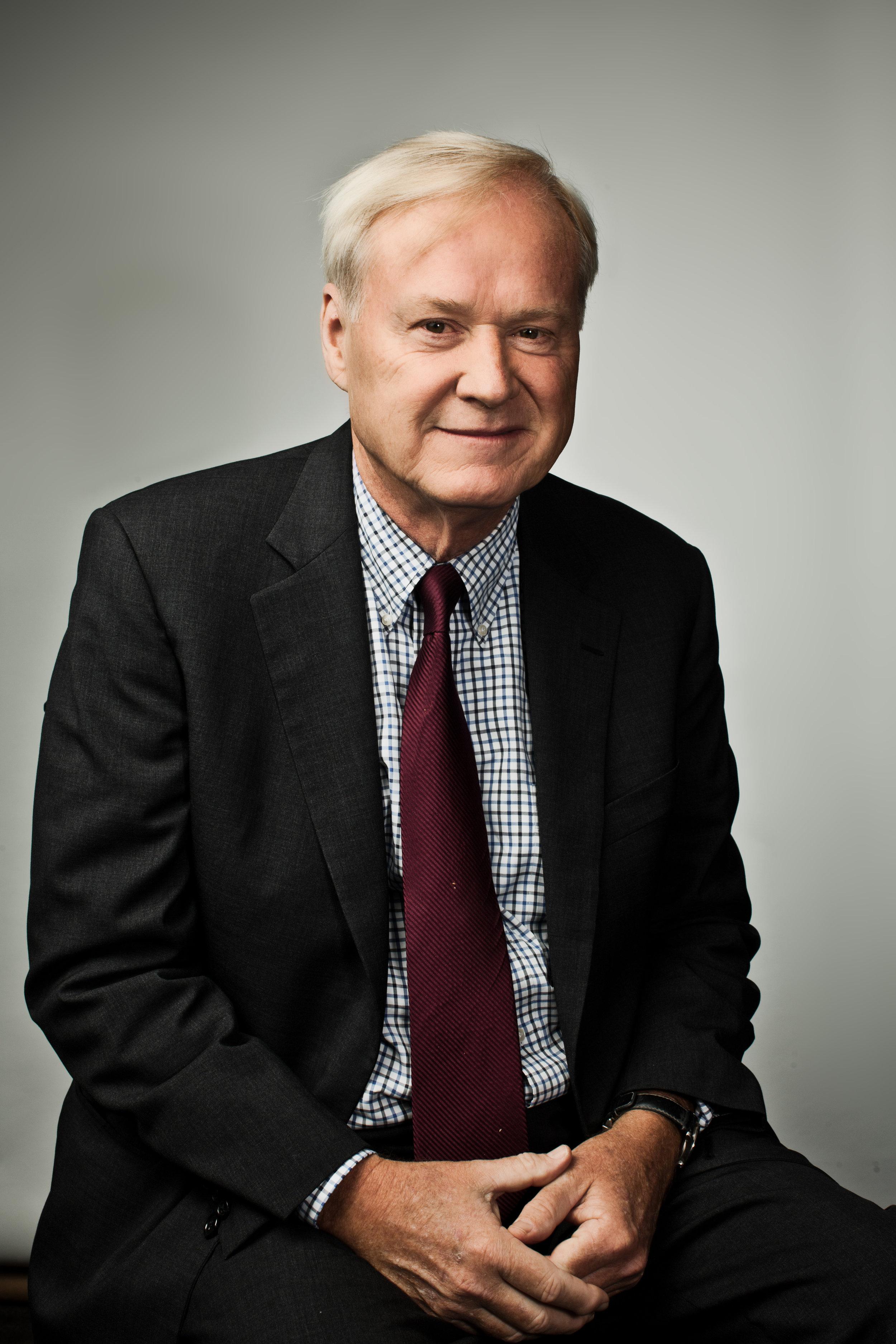 Journalist Chris Matthews