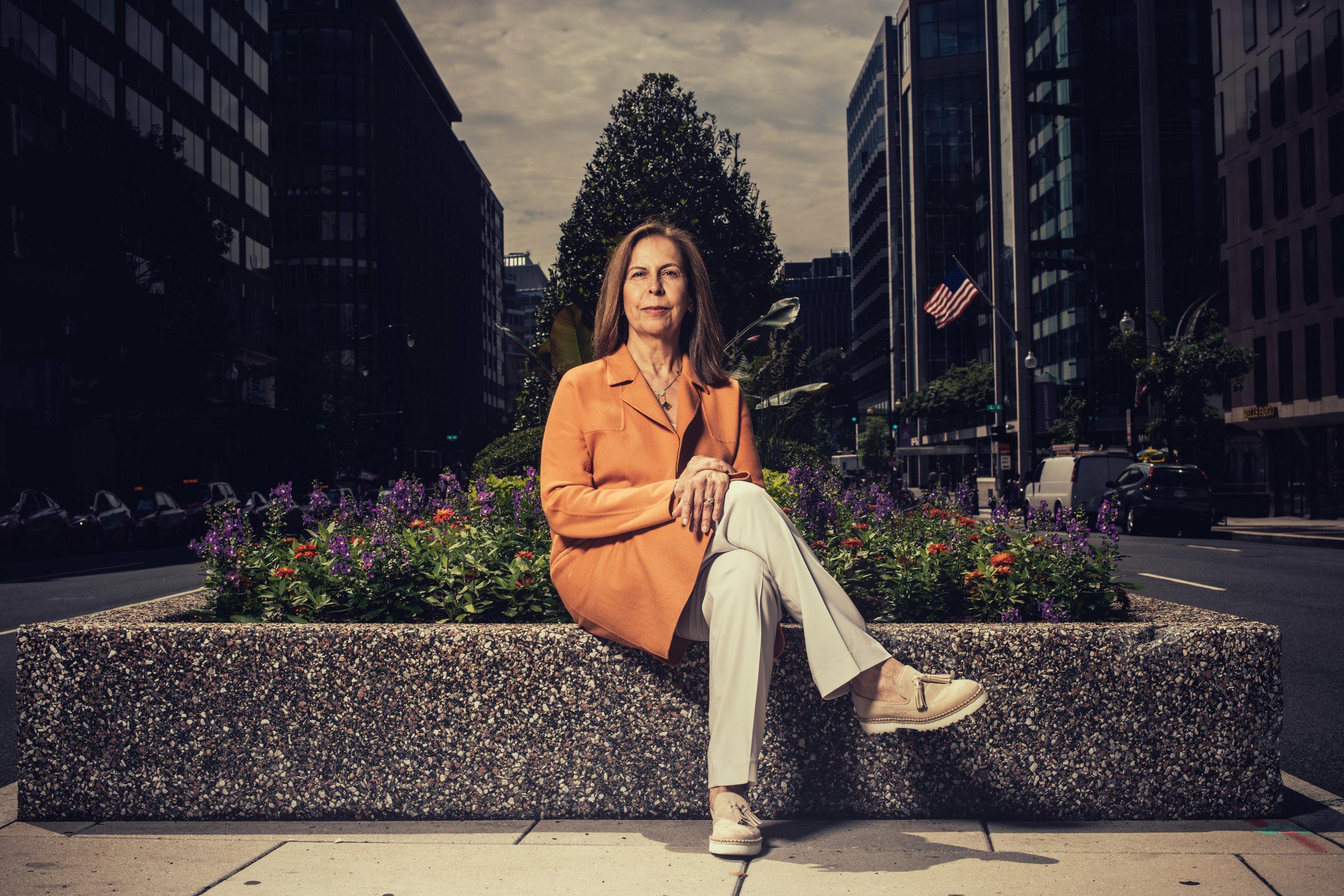 Hedge fund manager Afsaneh Beschloss