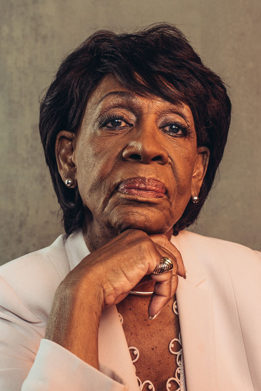 Congresswoman Maxine Waters for POLITICO Magazine