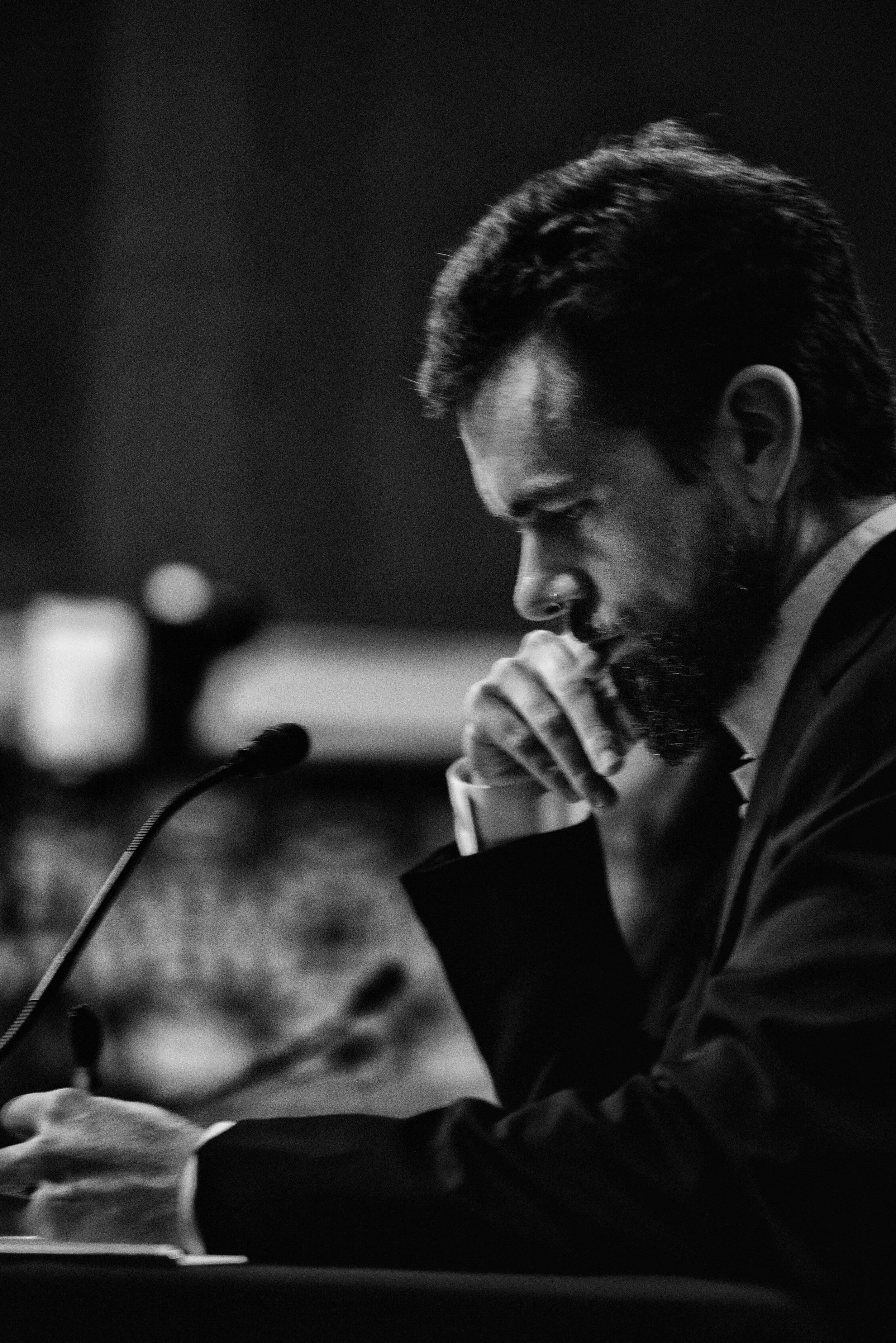Day 594: Twitter CEO Jack Dorsey testifies during a Senate Intelligence Committee hearing in Washington, DC on September 5, 2018.