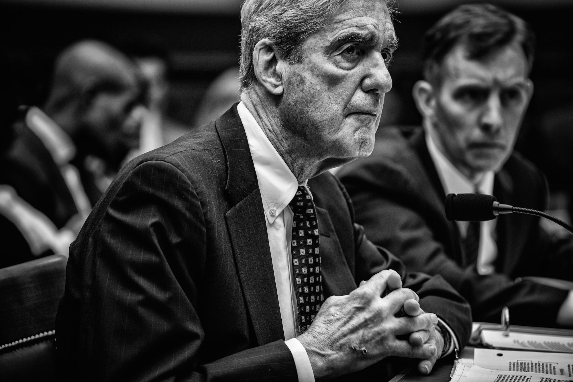 Day 915: Former Special counsel Robert Mueller testifies before the House Judiciary Committee in the Rayburn House Office Building in Washington, DC on July 24th, 2019.