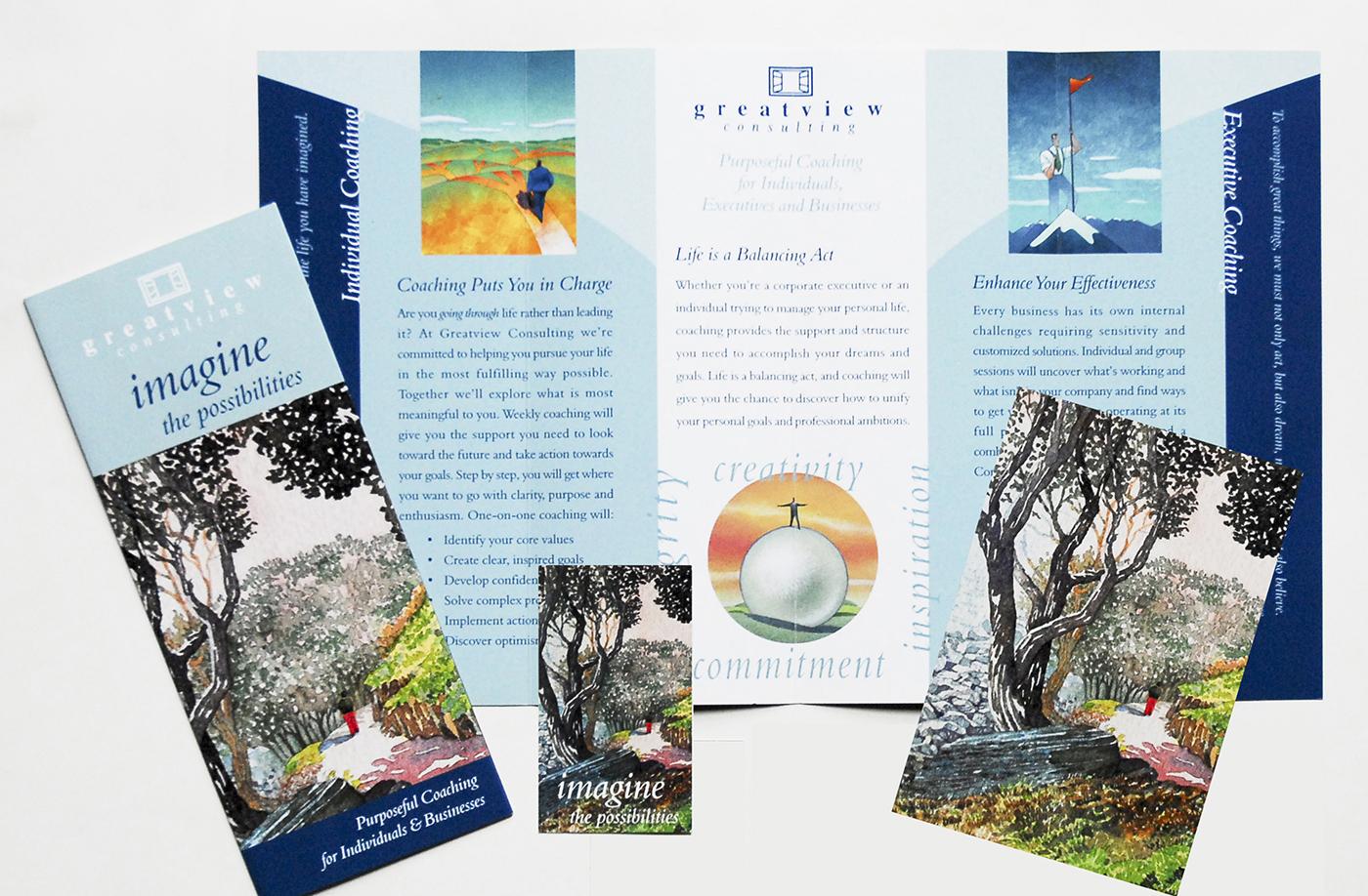 Brochure / postcard /