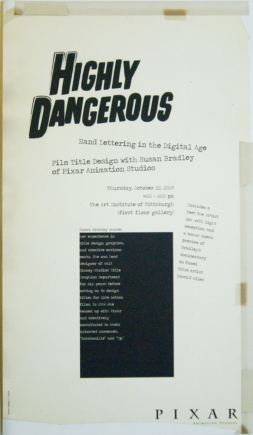 Highly Dangerous poster