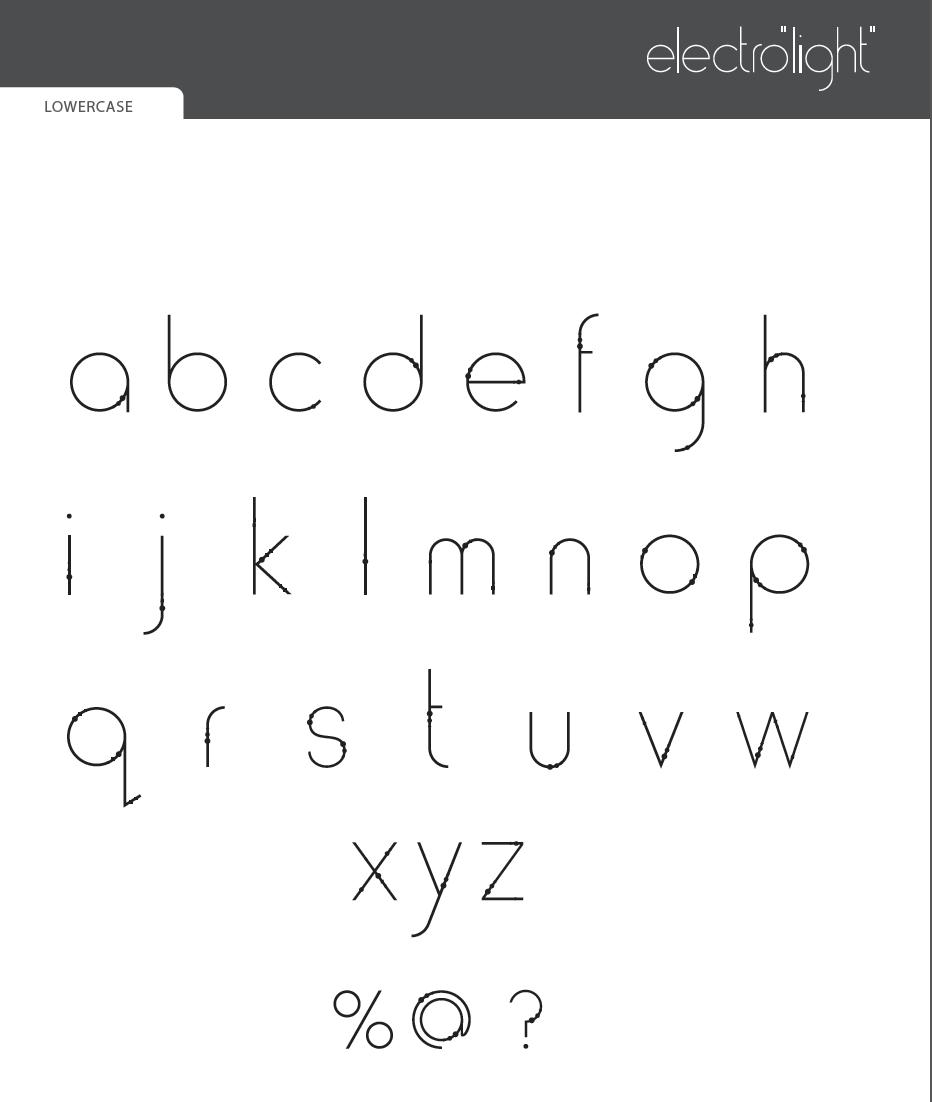 Contemporary Typography, type design.