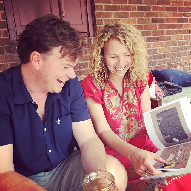 Soooo many smiles watching @lightonance and her sweetheart enjoy #ChickenTheBook ❤️😻❤️