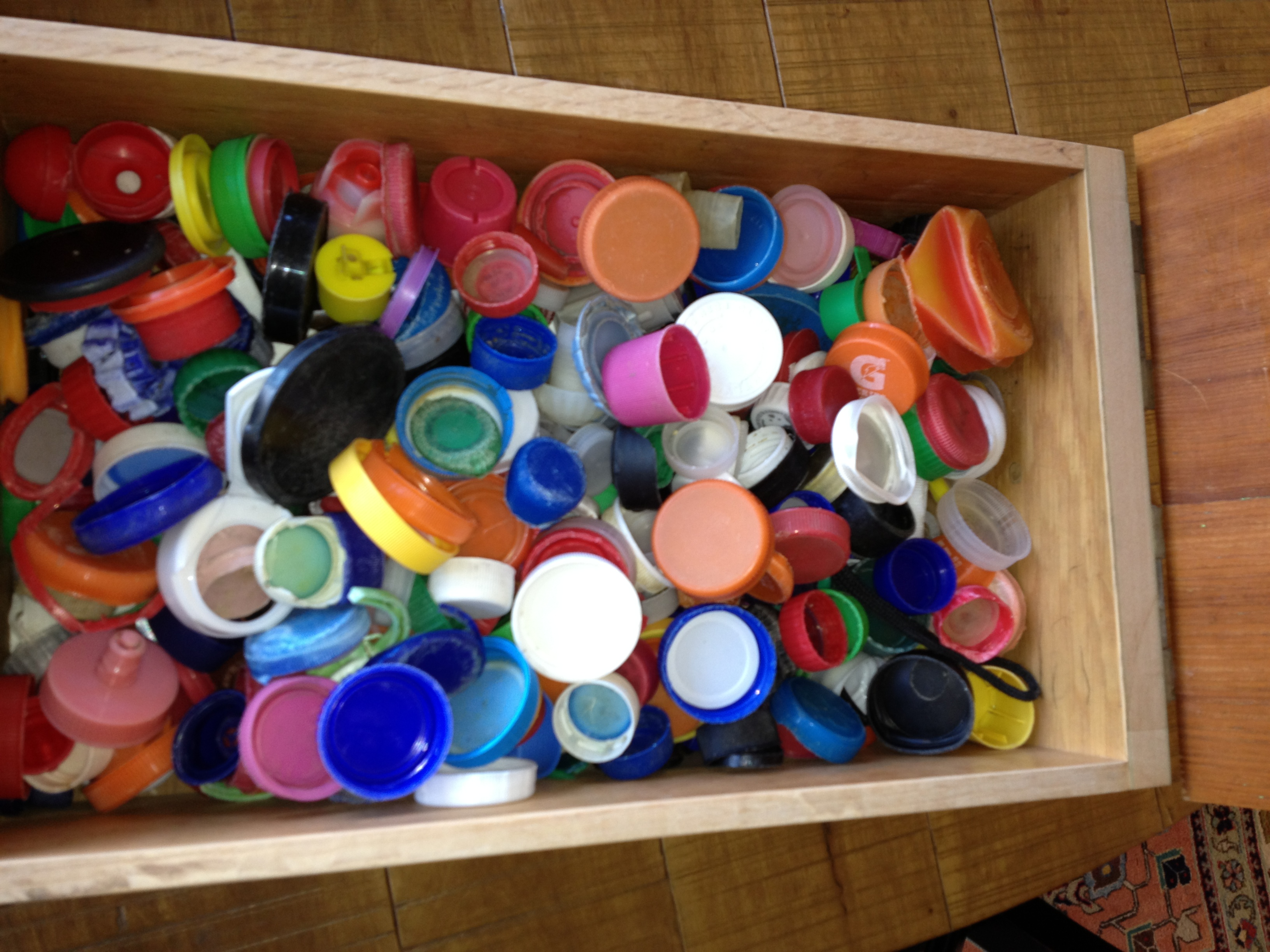 Jeff Hvid's collection of bottle caps