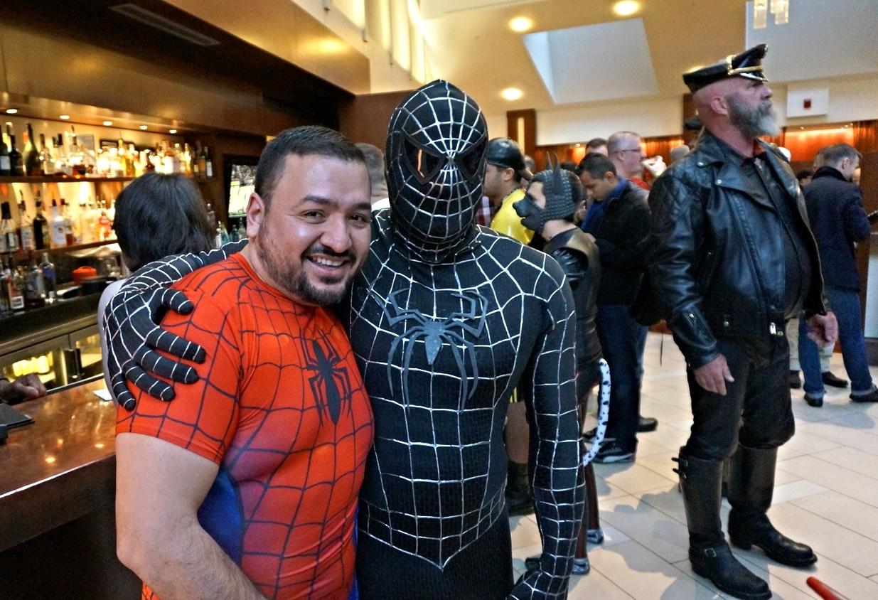 Superhero Fetish Meetup at MAL