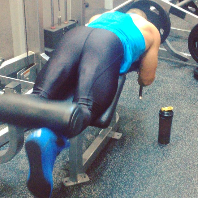Spandex in the gym: priceless