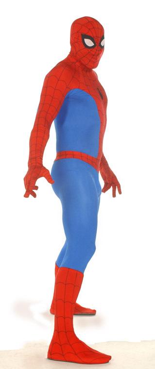 Spiderman, spandex slut.