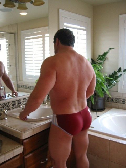 Speedos as a spandex entry point.