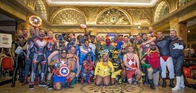Superhero Fetish Meetup at IML 2020