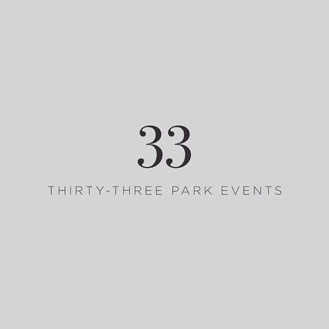 New logo design to help launch my sister's new event company @33parkevents check it out!  #logodesinger #customdesign #bostoneventplanner