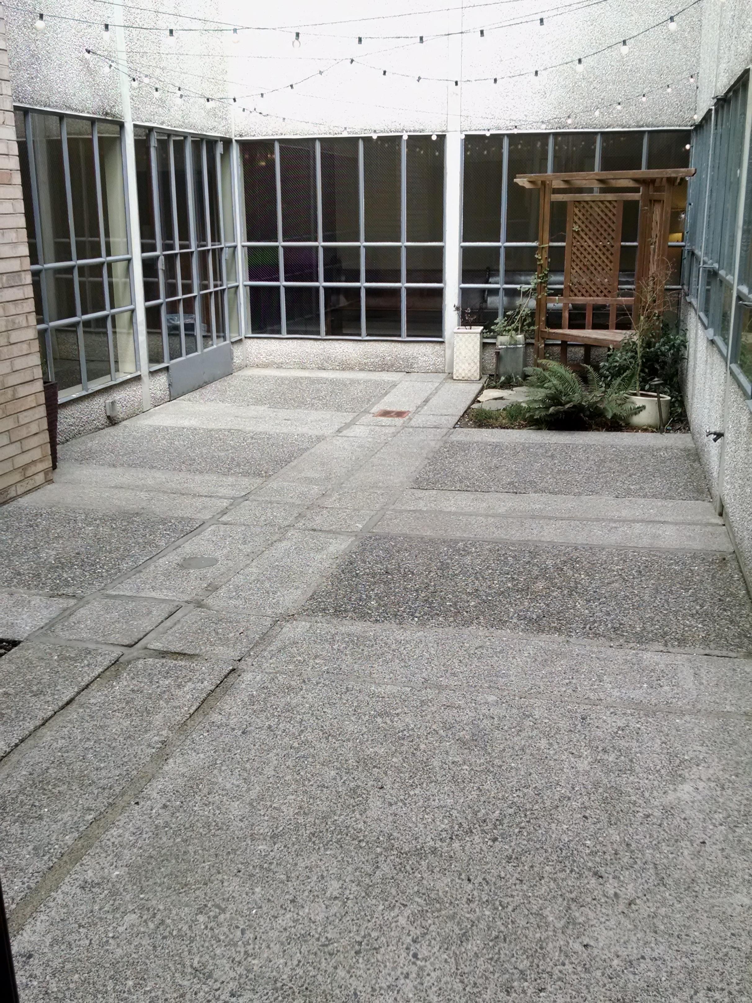 Courtyard renovation