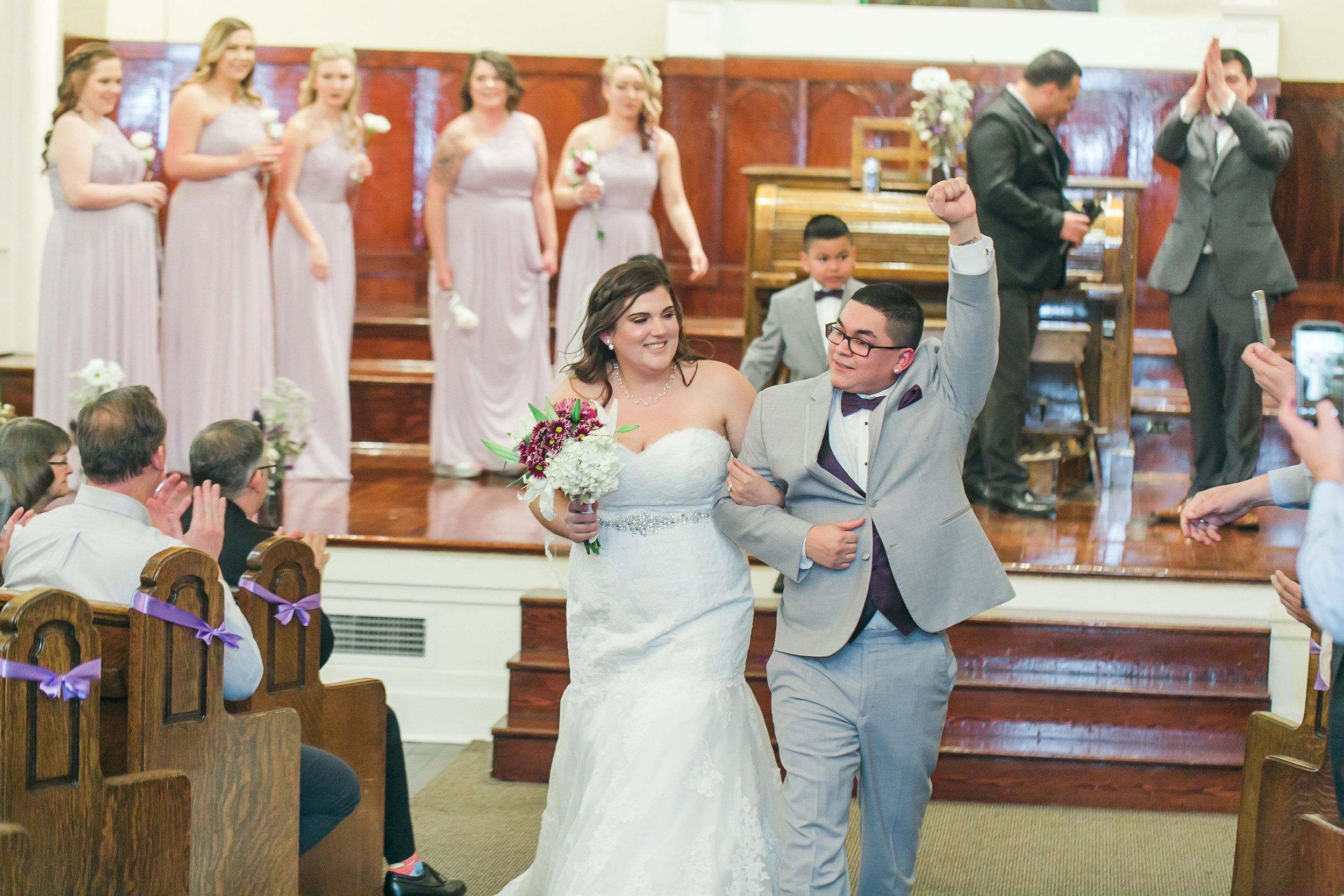 Celebrate! Friday weddings are here! Photo by Lloyd Photographers