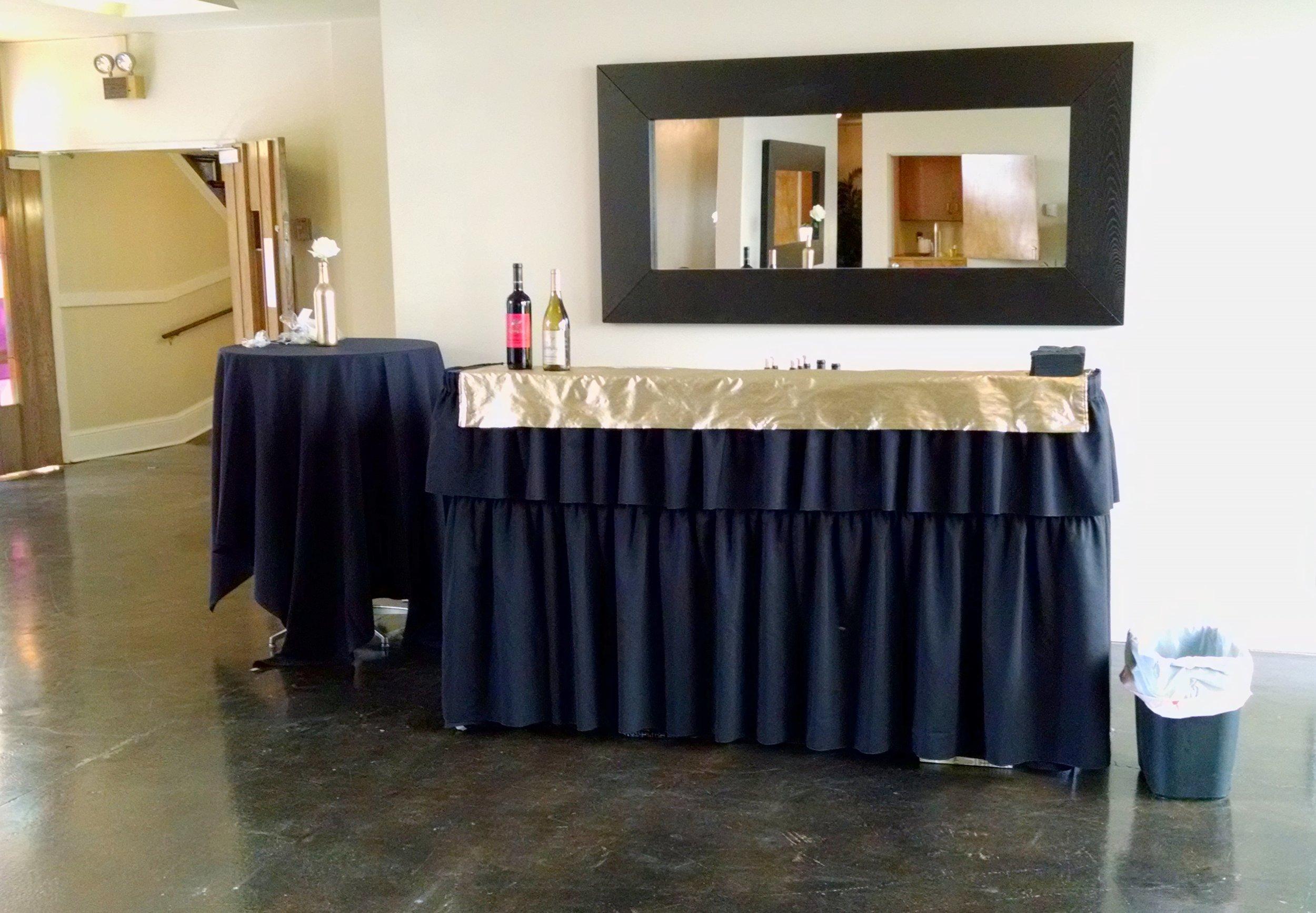 Tall one table bar