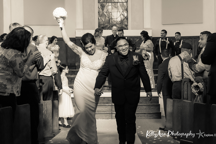 Think Saturday is the best day for a wedding? Think again!   -Photo by Kelly Ann Photography