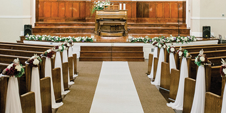 Chapel Measurements - Overall, Stage, Pews, and the Aisle