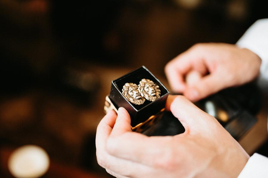 Tacoma Wedding Venues Lion Cuff Links.jpg