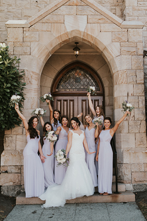 No more decisions and over-the-moon!  Photo by Mayfield Photo and Film