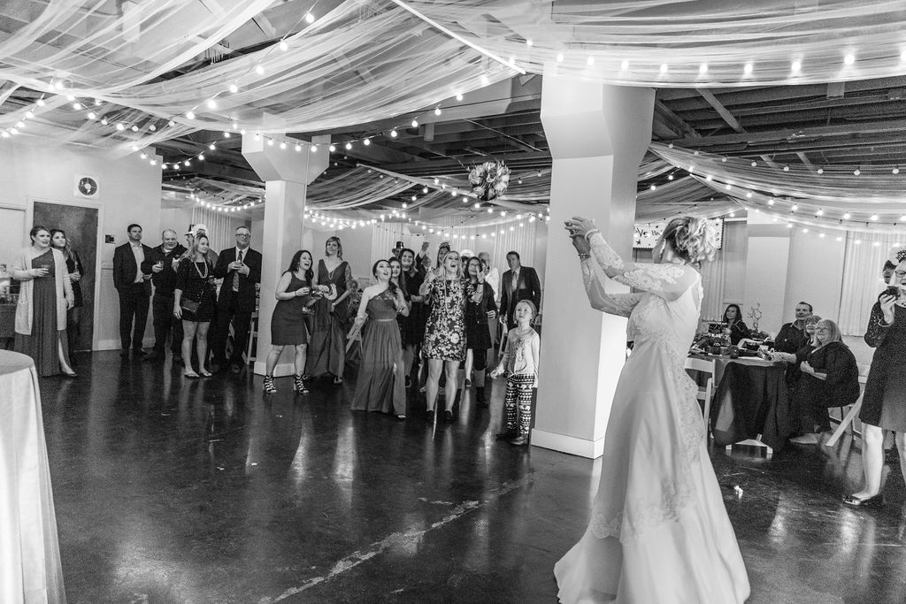 Your wedding planner knows the best time to do this!  Photo by Alex J Everett
