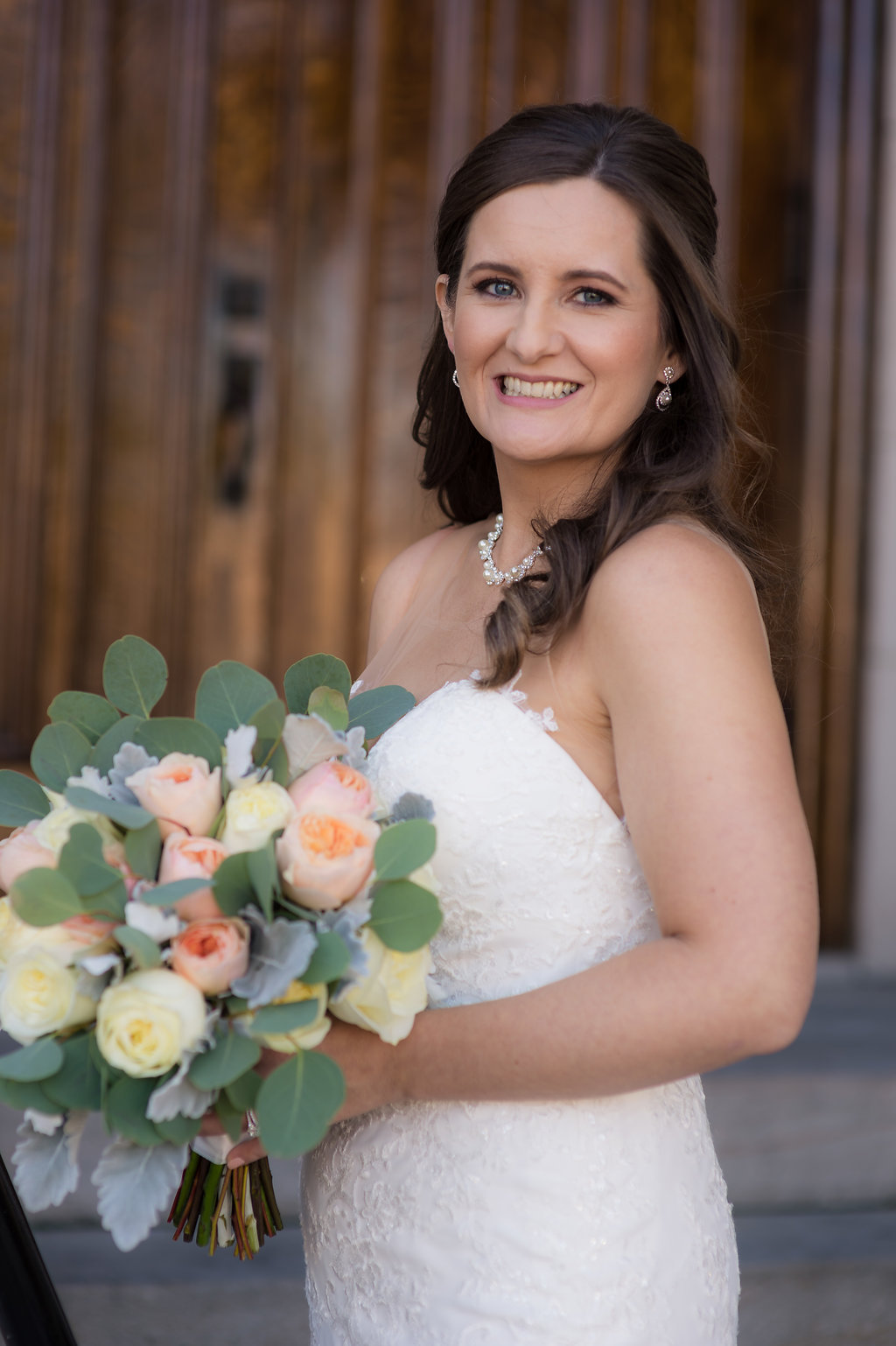 A beautiful bridal bouquet by Katrina!  Photo by Kelli Hodges Photography