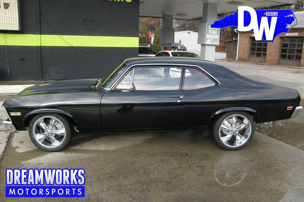 1969 Chevrolet Nova with 18 and 20 Foose Legends
