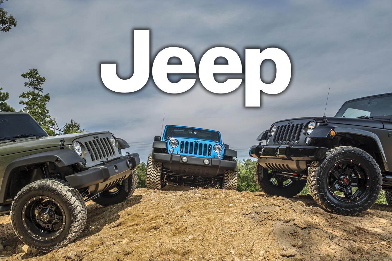 Jeep Wranglers by Dreamworks Motorsports