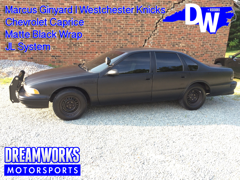 Marcus-Ginyard-UNC-Tarheel-Chevy-Caprice-Dreamworks-Motorsports-1